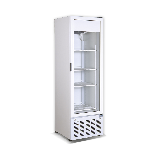 Vertical display cooler