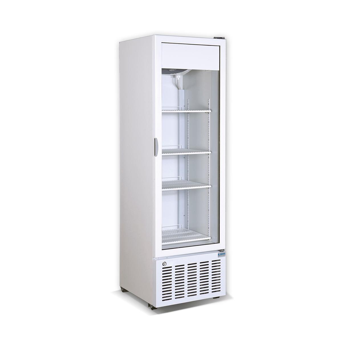 Vertical display cooler